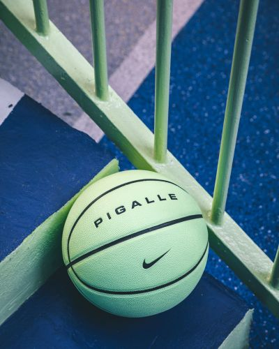 A New Look for the Famous Pigalle's Basketball Court