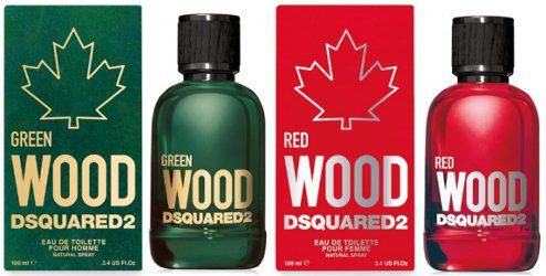 DSquared2 Green Wood & Red Wood~ new fragrances