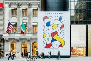 Longchamp installe sa plus grande boutique américaine à New York