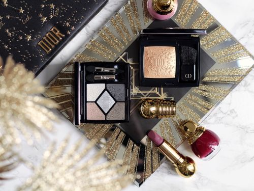 Midnight Wish:  la jolie collection Dior & mon makeup look de Noël