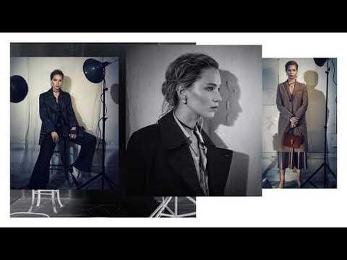 Fall 2018 Ready-to-Wear Campaign - Behind the Scenes with Jennifer Lawrence