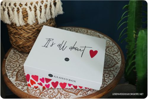 Glossybox:  it's all about love