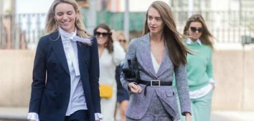 "Street style : la ""working girl"" 2.0 de la Fashion Week"