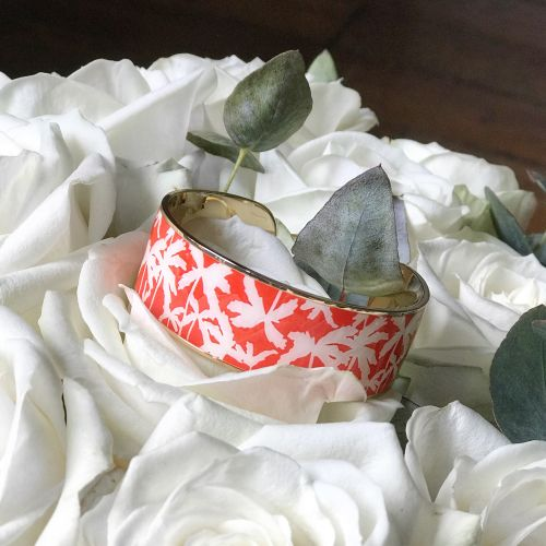 Le bracelet Venice de Bangle Up en corail !