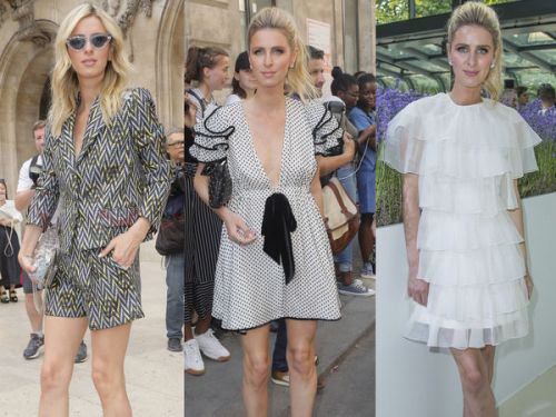 PHOTOS. Nicky Hilton:  tous ses looks pendant la Fashion week