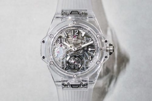 La Big Bang Tourbillon Power Reserve 5 Days Sapphire de Hublot