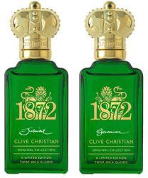 Clive Christian 1872 Twist Jasmine & 1872 Twist Geranium ~ new fragrances