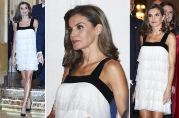 Royal Style - Letizia ose la mini-robe Charleston à volants