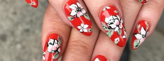20 manucures red hot pour des ongles flamboyant