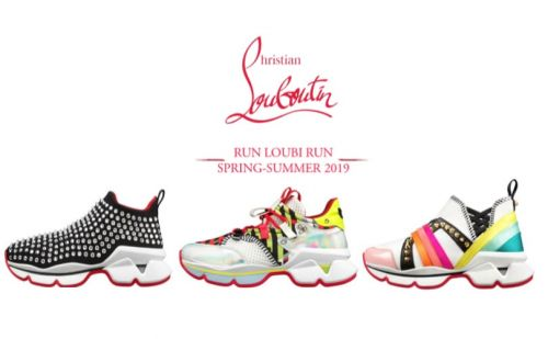 Run Loubi Run, les sneakers exclusives de Christian Louboutin