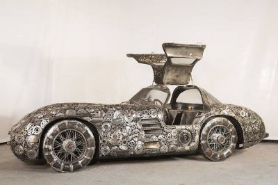 Iconic Cars Made With Junk Metals