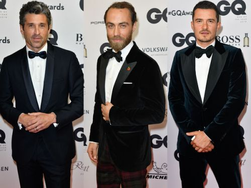 PHOTOS. Patrick Dempsey, James Middleton, Orlando Bloom. les people sur leur 31 à la soirée GQ