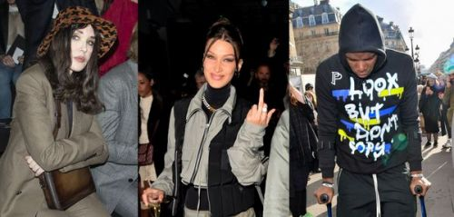 Isabelle Adjani, Paul Pogba. Les people à la Fashion Week Hommes de Paris