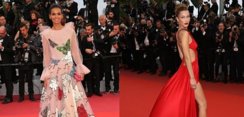 Duel sur Red Carpet : Bella Hadid vs Liya Kebede
