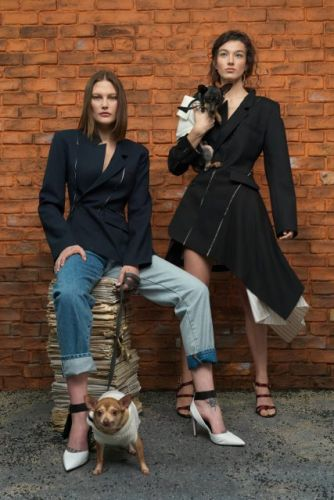 Monse Gets Furry for Pre-Fall