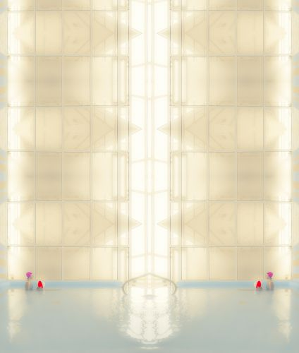 A Wet and Geometric Atmosphere in a Pool