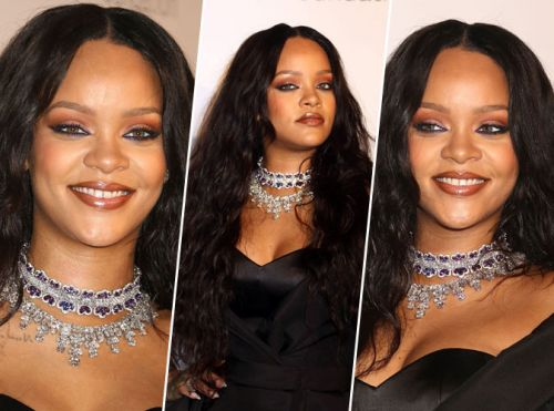 Rihanna:  On copie sa mise en beauté du Diamond Ball !