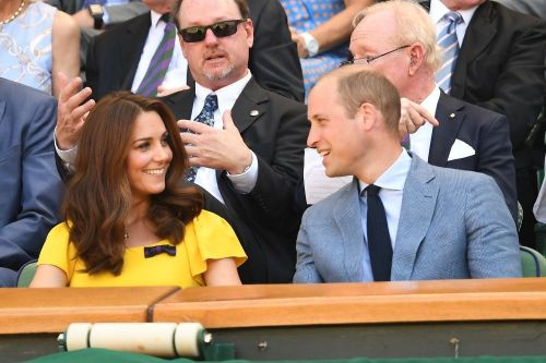 Kate Middleton et le Prince William:  Un couple glamour à Wimbledon