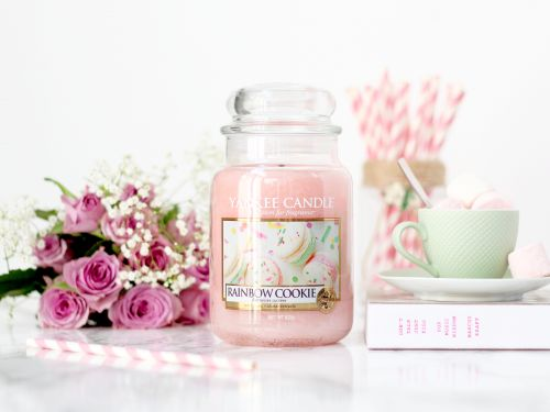 Rainbow Cookie:  ma nouvelle Yankee Candle