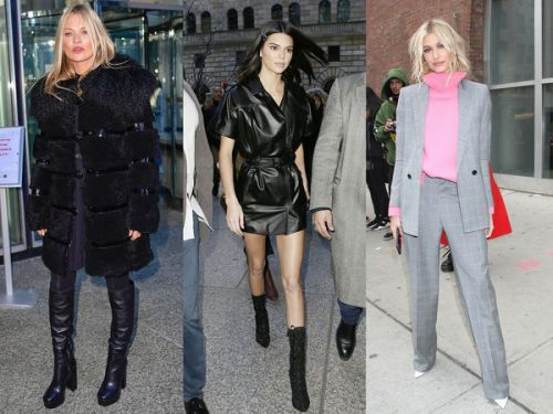 PHOTOS. Kate Moss, Kendall Jenner, Hailey Baldwin : pluie de people pour la Fashion Week new-yorkaise
