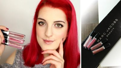Focus sur le Enamored Hi-Shine Lipgloss de Marc Jacobs