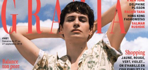 Grazia n°461 du 21 septembre : le come-back puissant de Chris