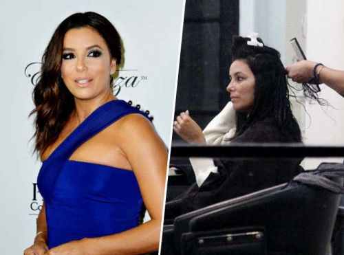 Eva Longoria:  avant/après extensions, son incroyable make over !