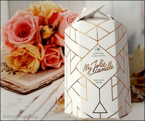 My Jolie Candle Rose Gold