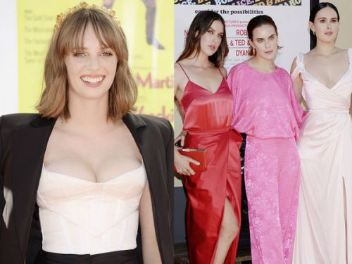 "PHOTOS. Maya Hawke, les soeurs Willis. les enfants de stars illuminent le tapis rouge de ""Once Upon a Time. in Hollywood"""