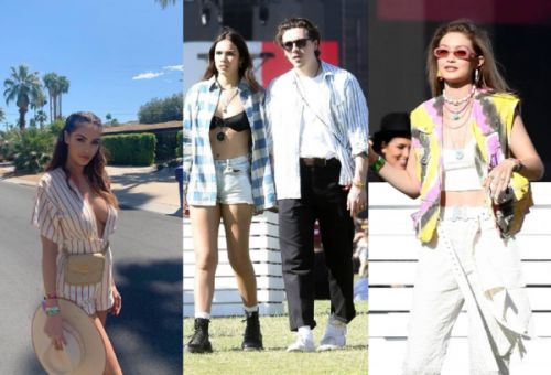 PHOTOS. Nabilla, Brooklyn Beckham et Hana Cross, Gigi Hadid. les people s'éclatent au festival Coachella