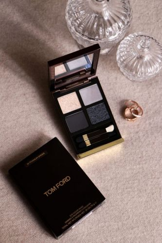 Le smoky parfait avec le Eye Color Quad Titanium Smoke de Tom Ford