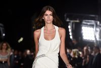 Kaia Gerber, mannequin star de la Fashion Week de New York
