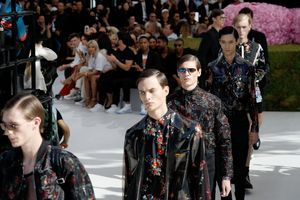 Fashion week: la touche haute couture de Dior homme