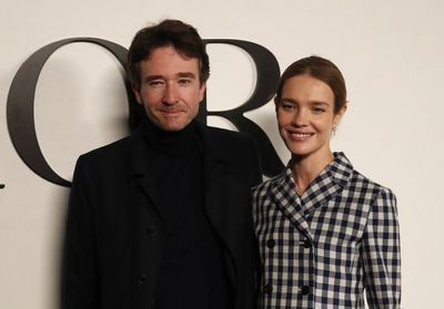 Fashion Week de Paris:  Natalia Vodianova, Antoine Arnault, Christine and the Queens, Baptiste Giabiconi. au défilé Dior