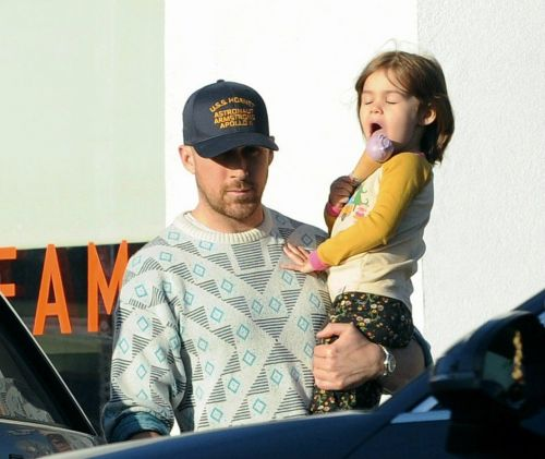 Ryan Gosling:  rare apparition avec l'adorable Esmeralda !