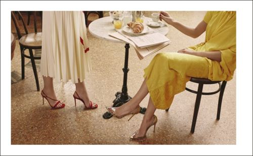 MyTheresa lance une collection capsule avec Gianvito Rossi