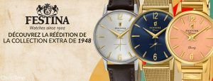 La collection vintage Extra de Festina