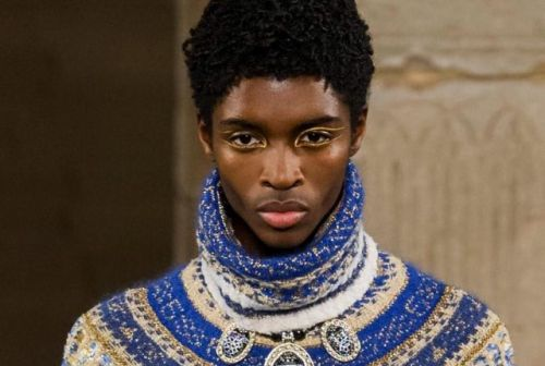 This Male Model Has Made History at Chanel