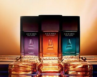 Azzaro Pour Homme Amber Fever, Hot Pepper & Naughty Leather ~ new fragrances