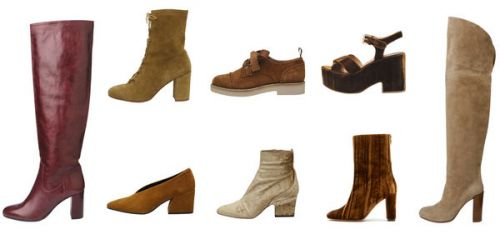 9 chaussures d'automne à adopter