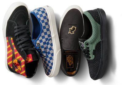 L'instant mode:  Gryffondor, Mangemort, Vif d'or, on s'arrache la collection Vans x Harry Potter