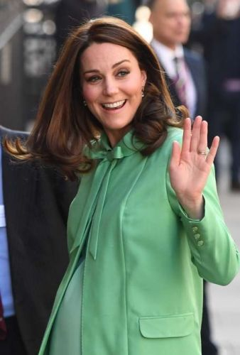 Public Royalty:  Kate Middleton prolonge la Saint Patrick !
