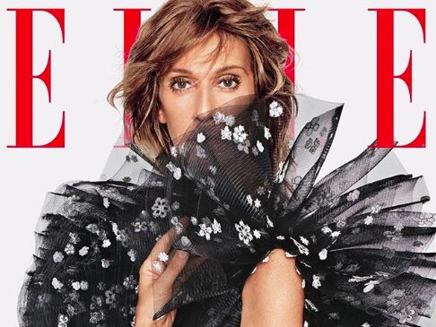 PHOTOS. Céline Dion sensationnelle en couverture du magazine Elle
