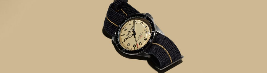 BR V2 Military Beige, une montre signée Bell & Ross