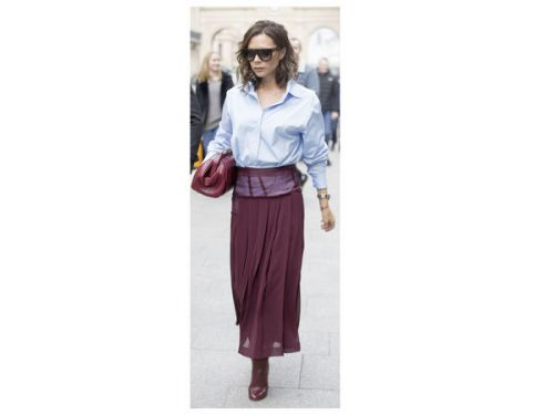 Victoria Beckham:  on copie son look automnal
