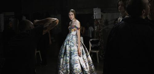 "Photographier la Fashion Week:  ""En backstage, tout va très vite"""