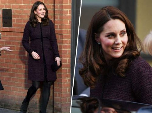 Public Royalty:  Kate Middleton:  encore un manteau Séraphine qui va faire le buzz !