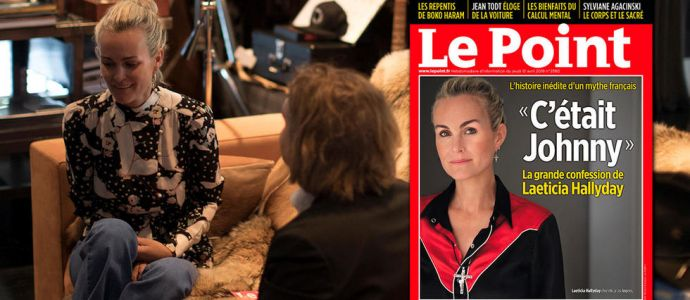 Laeticia Hallyday : les temps forts de son interview au « Point »