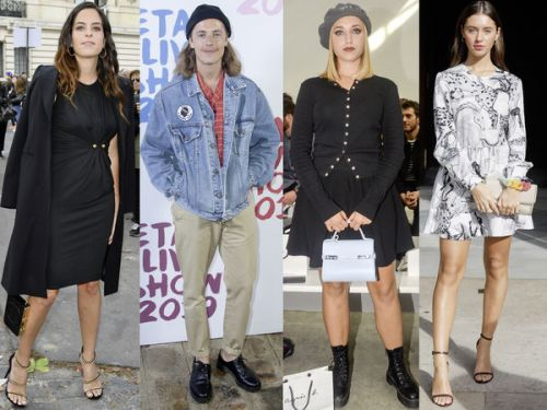 "PHOTOS. Anouchka Delon, Charlotte Casiraghi. Les ""filles et fils de"" s'éclatent lors de la Fashion Week de Paris"