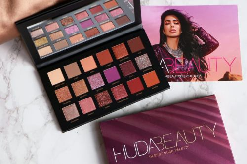 La palette Desert Dusk by Huda Beauty